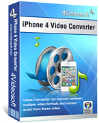 4Videosoft iPhone 4 Video Converter boxshot