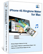 iPhone 4S Ringtone Maker for Mac