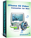 iPhone 4S Video Converter for Mac box-s
