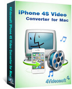 iPhone 4S Video Converter for Mac