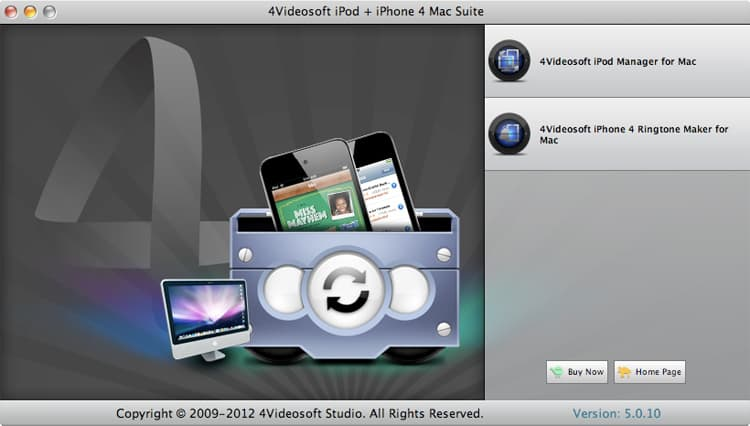 It is the best iPod iPhone 4 software.