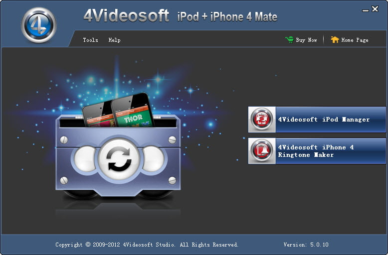 Click to view 4Videosoft iPod + iPhone 4 Mate screenshots
