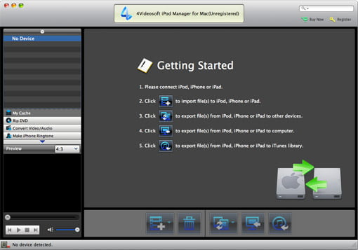 iPod Manager for Mac
