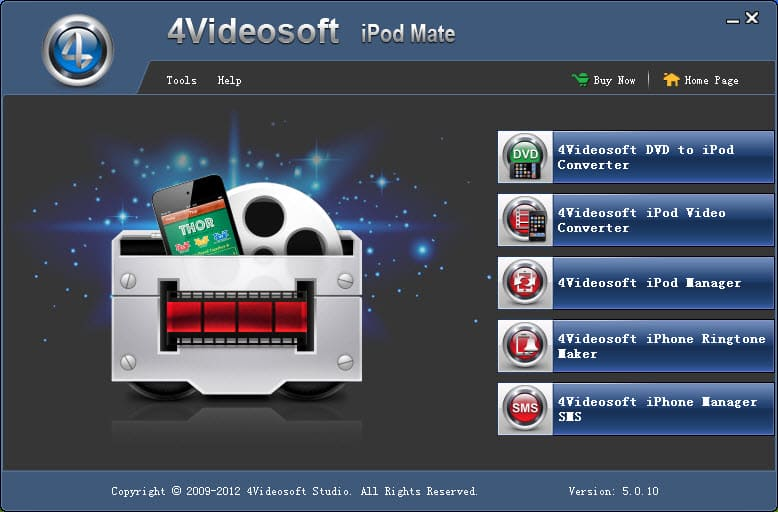Click to view 4Videosoft iPod Mate screenshots