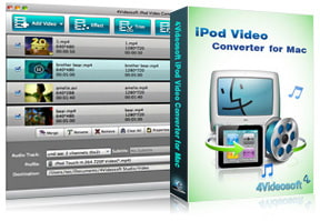 iPod Video Converter for Mac purchase