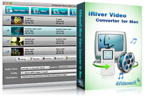 iRiver Video Converter for Mac purchase