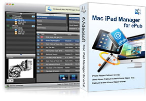 Mac iPad Manager for ePub purchase