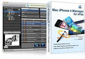 Mac iPhone 4 Manager for ePub purchase