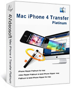 Mac iPhone 4 Transfer Platinum