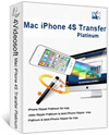 Mac iPhone 4S Transfer Platinum box-s