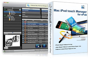 Mac iPod touch Manager for ePub purchase