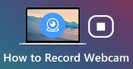 Comment enregistrer une webcam