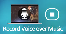 Record Voice Over Music