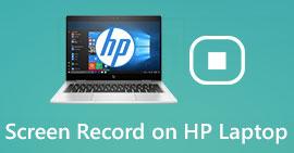 Enregistrement d'écran sur un ordinateur portable HP