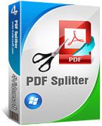 4Videosoft PDF Splitter box