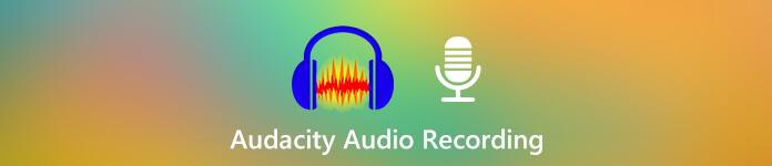Enregistrement audio Audacity