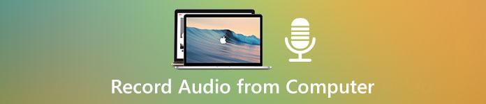 Enregistrer l'audio depuis un ordinateur