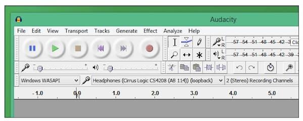 Enregistrer de l'audio avec Audacity