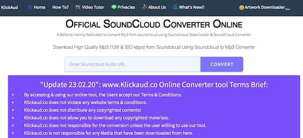 Kilckkaud Soundcloud en ligne