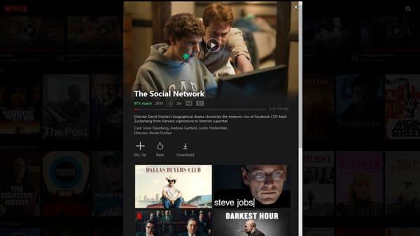 Dwonload Service Netflix