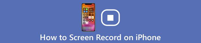 Enregistrement d'écran sur iPhone