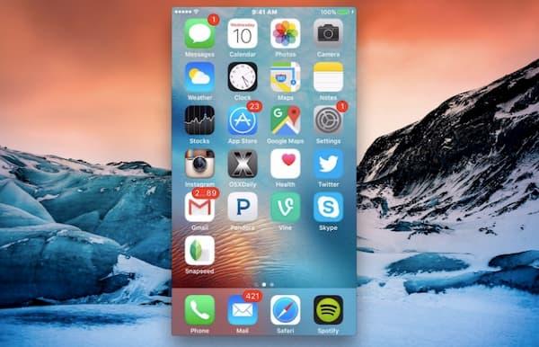 Enregistrer l'écran de l'iPhone avec quicktime