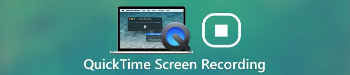 Enregistrement d'écran QuickTime