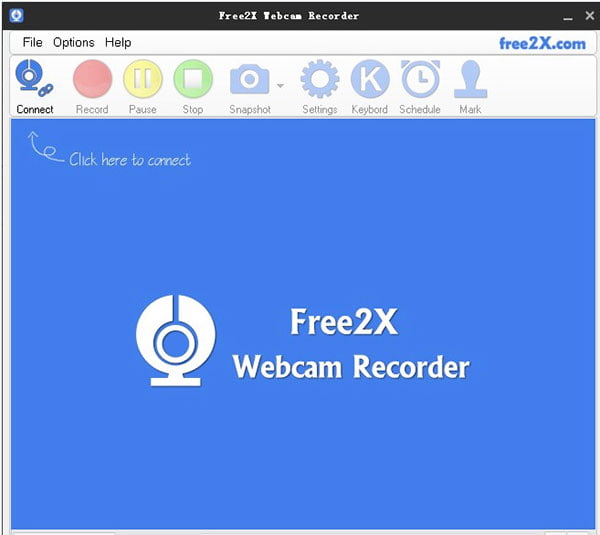 Enregistreur de webcam Free2x