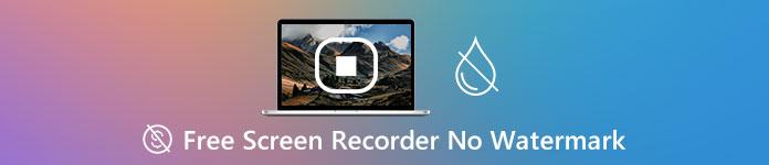 Enregistreurs d'écran gratuits sans filigrane