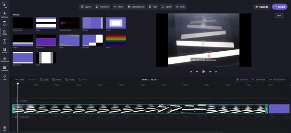 Enregistreur de webcam en ligne Clipchamp