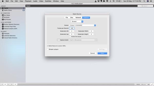 Enregistreur d'écran VLC