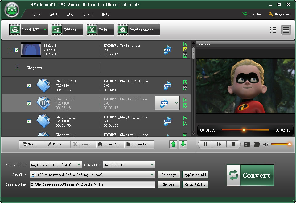 4Videosoft DVD Audio Extractor 3.1.10