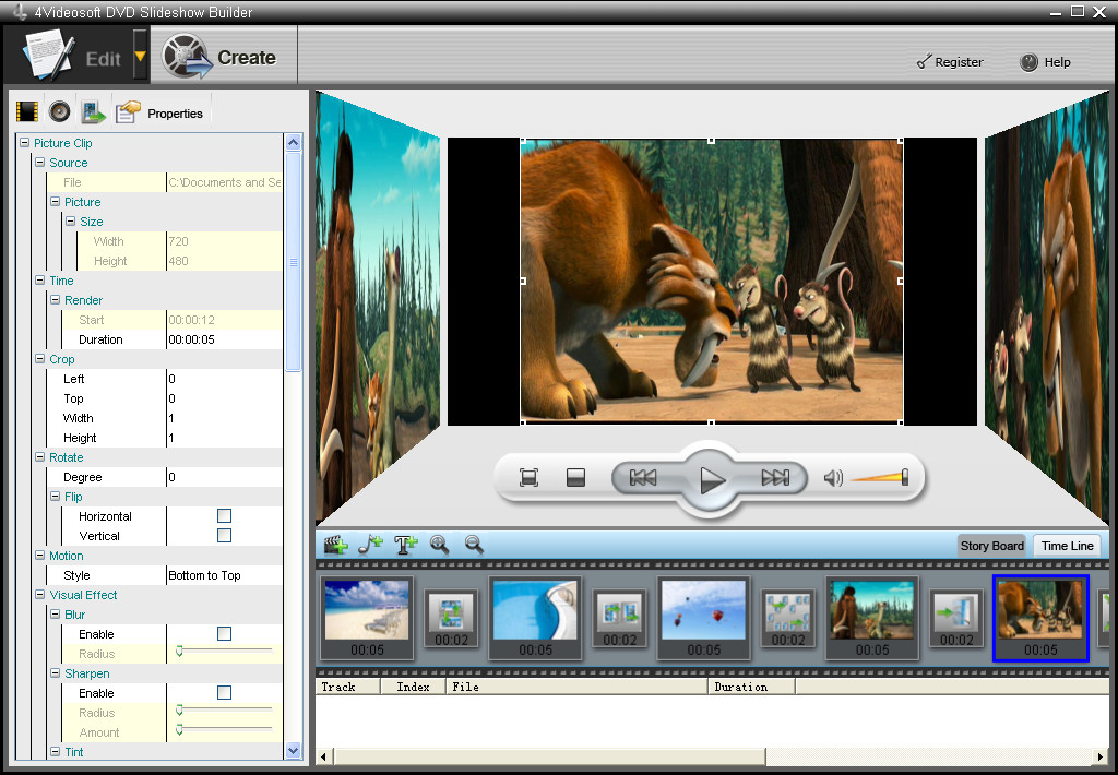 4Videosoft DVD Slideshow Builder