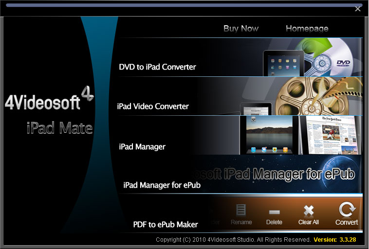 4Videosoft iPad Mate 4.0.02