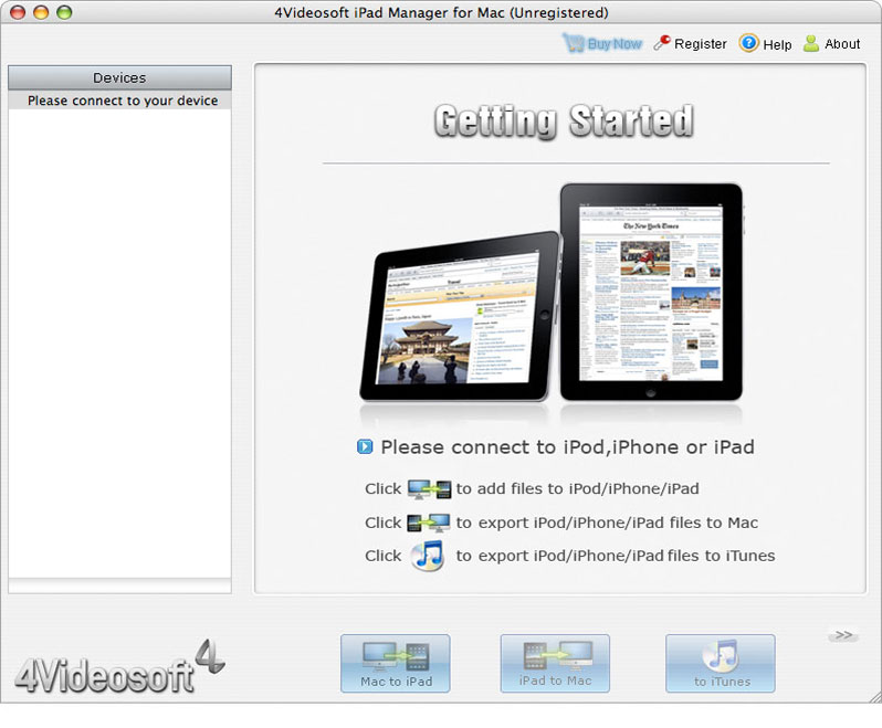A powerful Mac iPad Manager.