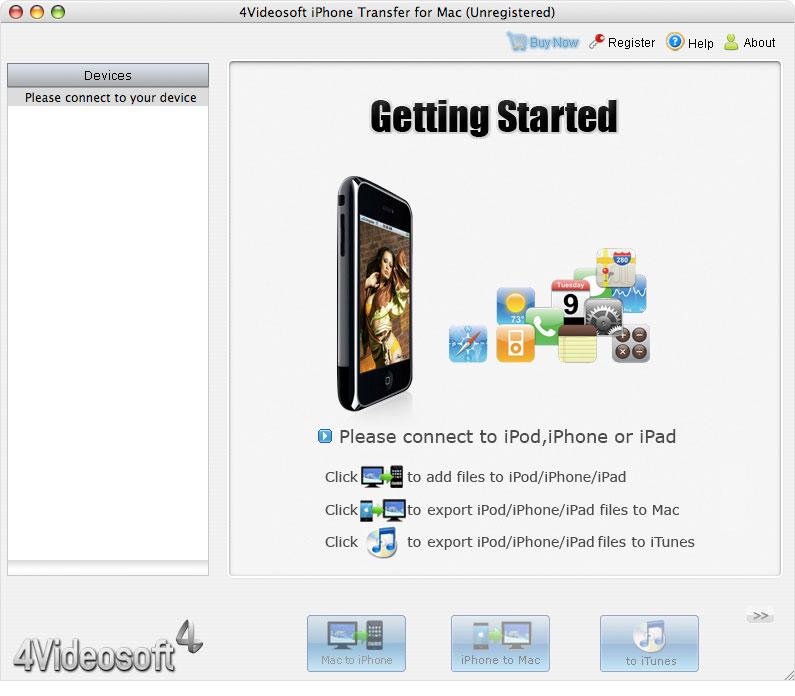 4Videosoft iPhone Transfer for Mac 3.2.36