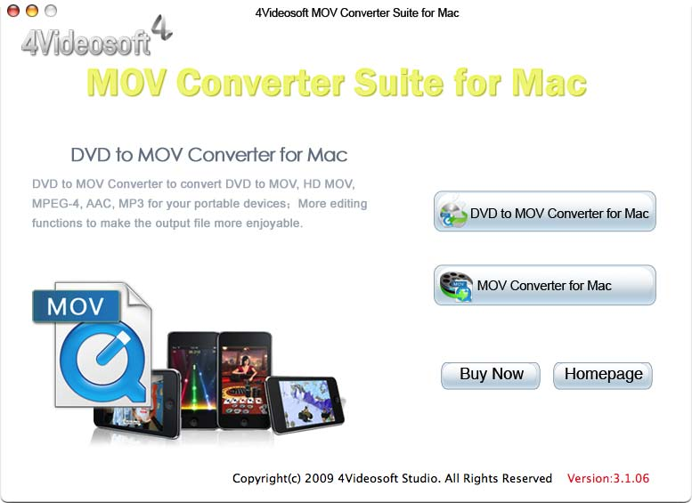 the professional Mac MOV Converter