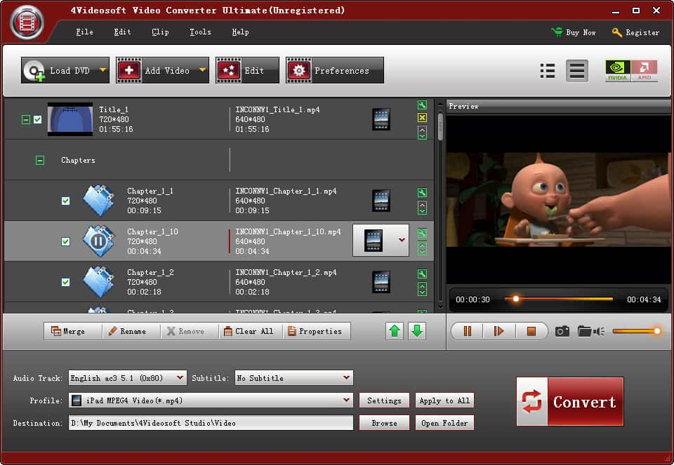 4Videosoft Video Converter Ultimate 3.1.36