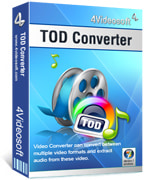 Convert TOD to 3GP, TOD to 3GP Converter