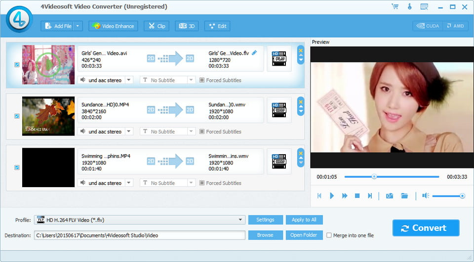 Click to view 4Videosoft Video Converter Platinum 5.2.36 screenshot