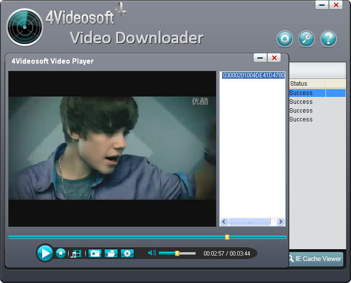 Click to view 4Videosoft Video Downloader screenshots