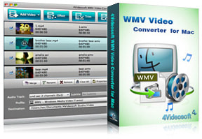 WMV Video Converter for Mac purchase